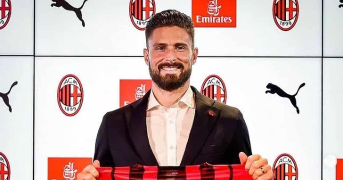 La maledizione del numero 9 del Milan: tocca a Giroud?