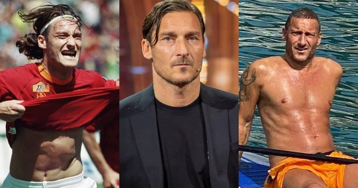 """Per la rubrica """"Calciatori e tendenze"""": moda Totti."""