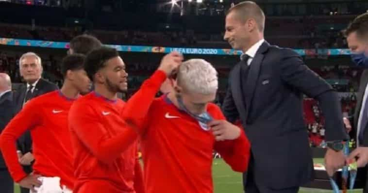 gli inglesi tolgono la medaglia di vice campioni d'Europa
