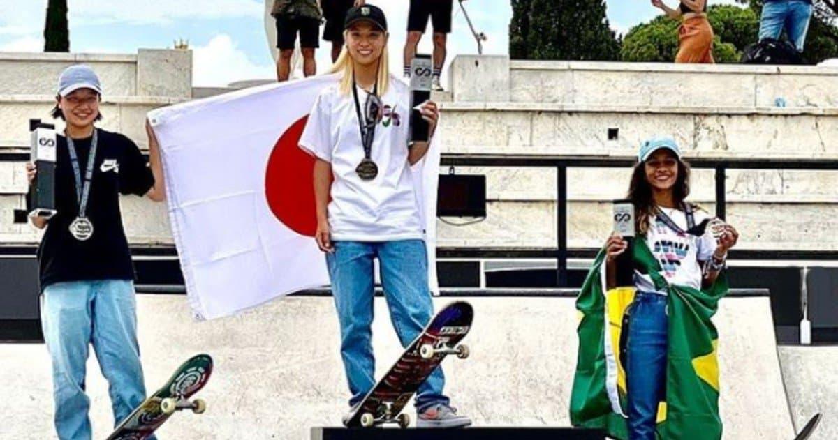 Il podio olimpico da scuola media: nello Skateboard fanno 42 anni in tre!