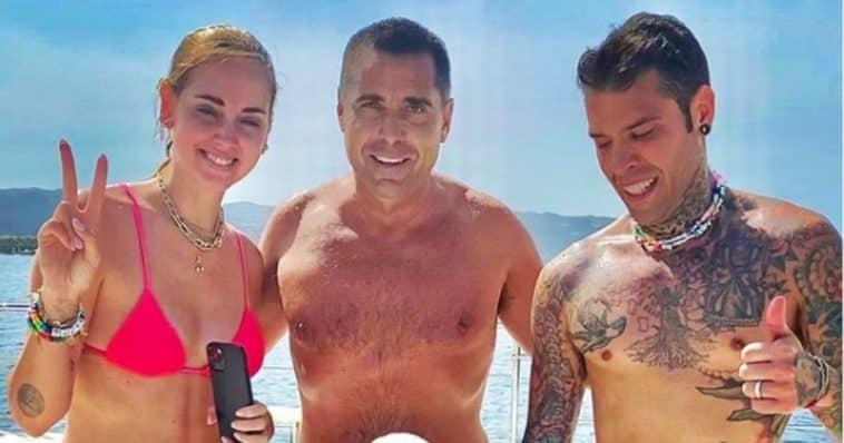 riccardo silva Ferragnez yacht share hibet social
