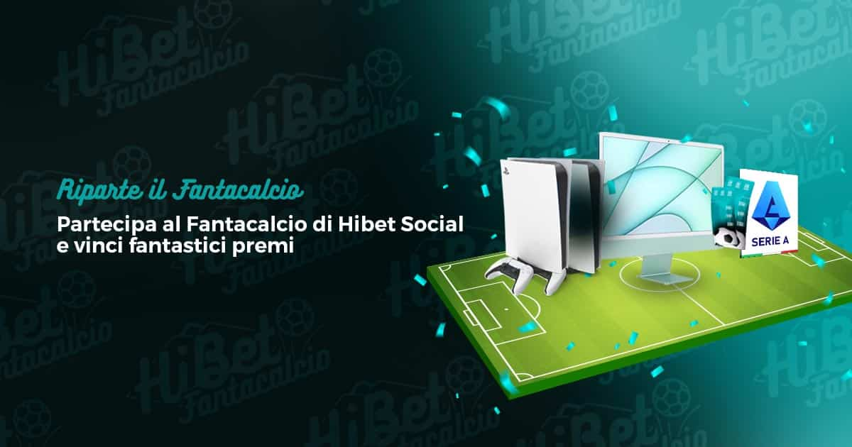 Riparte il Fantacalcio di Hibet Social
