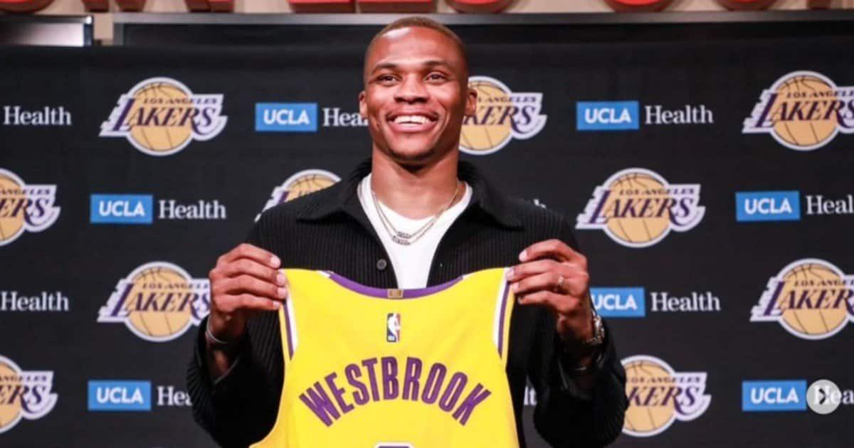 "Westbrook ai Lakers: ""Mi sembra ancora surreale"""
