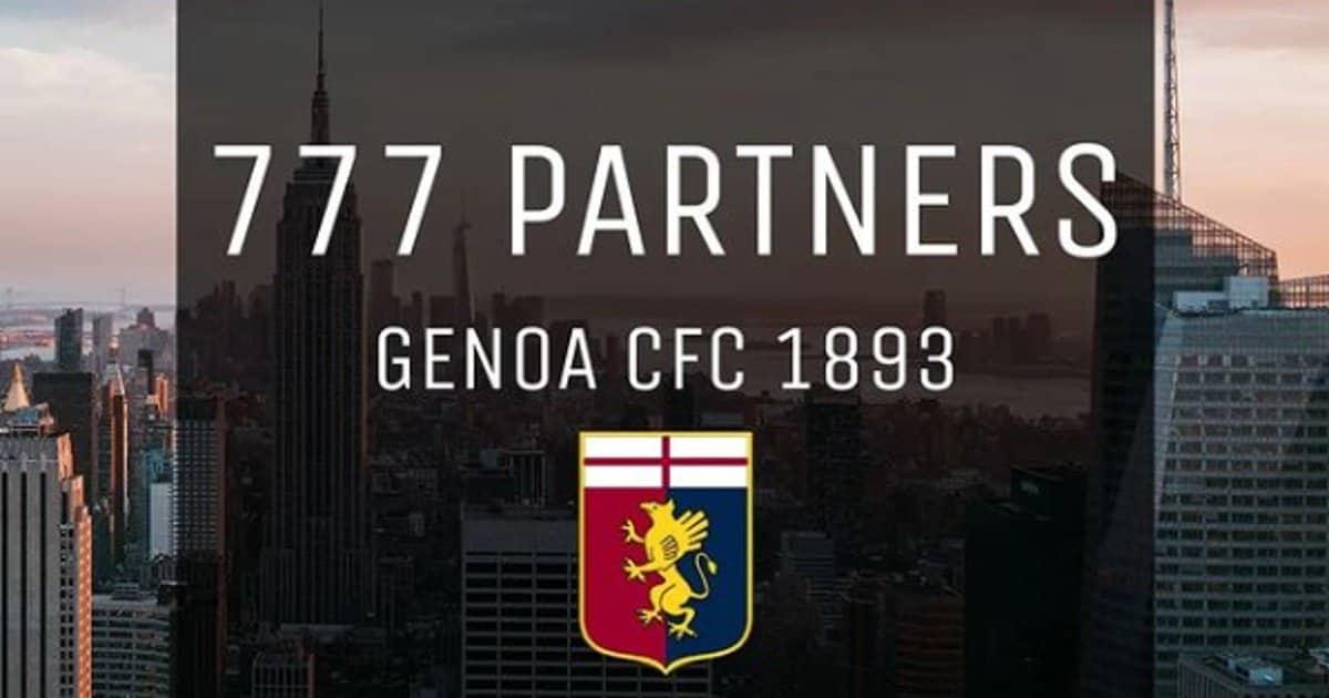 777 partners Genoa share hibet social