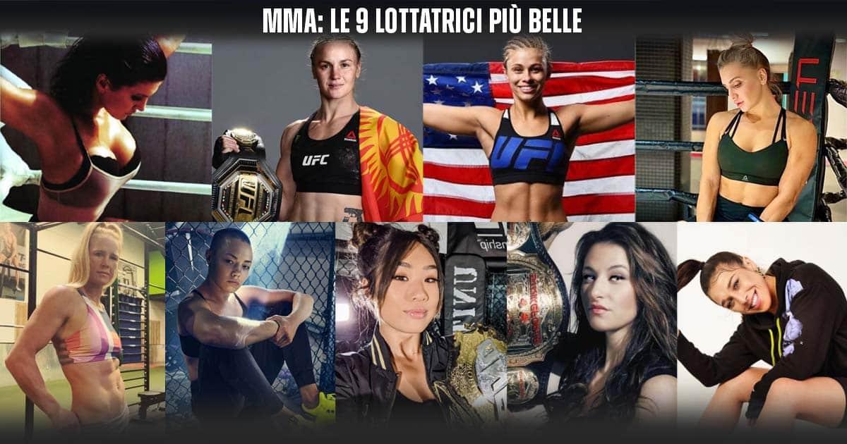 Le lottatrici più belle: la Top 9 femminile MMA
