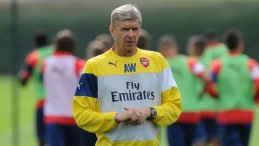 arsene wenger Arsenal share hibet social