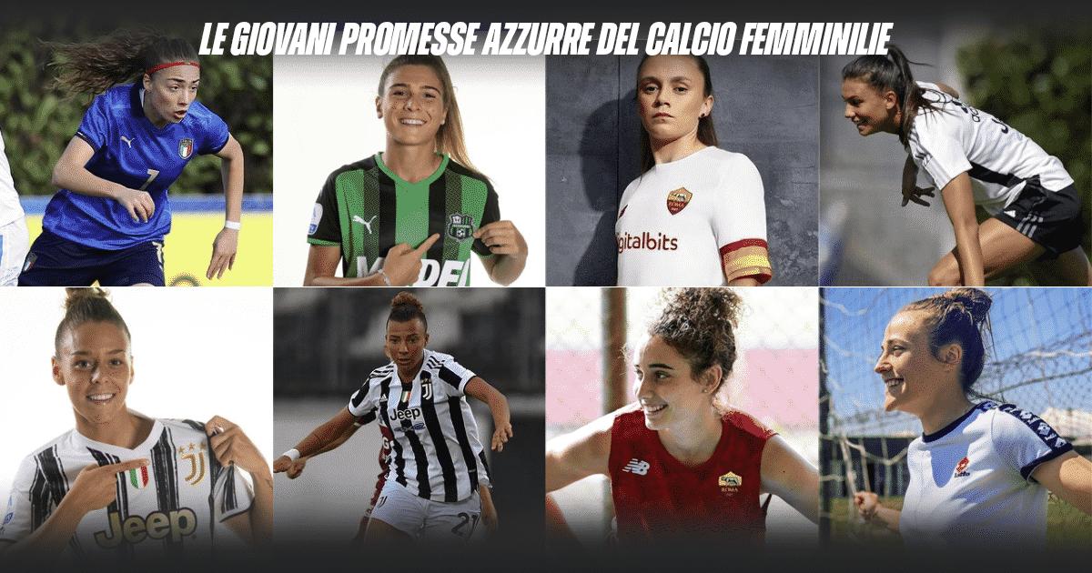 Le giovani promesse azzurre del calcio femminile