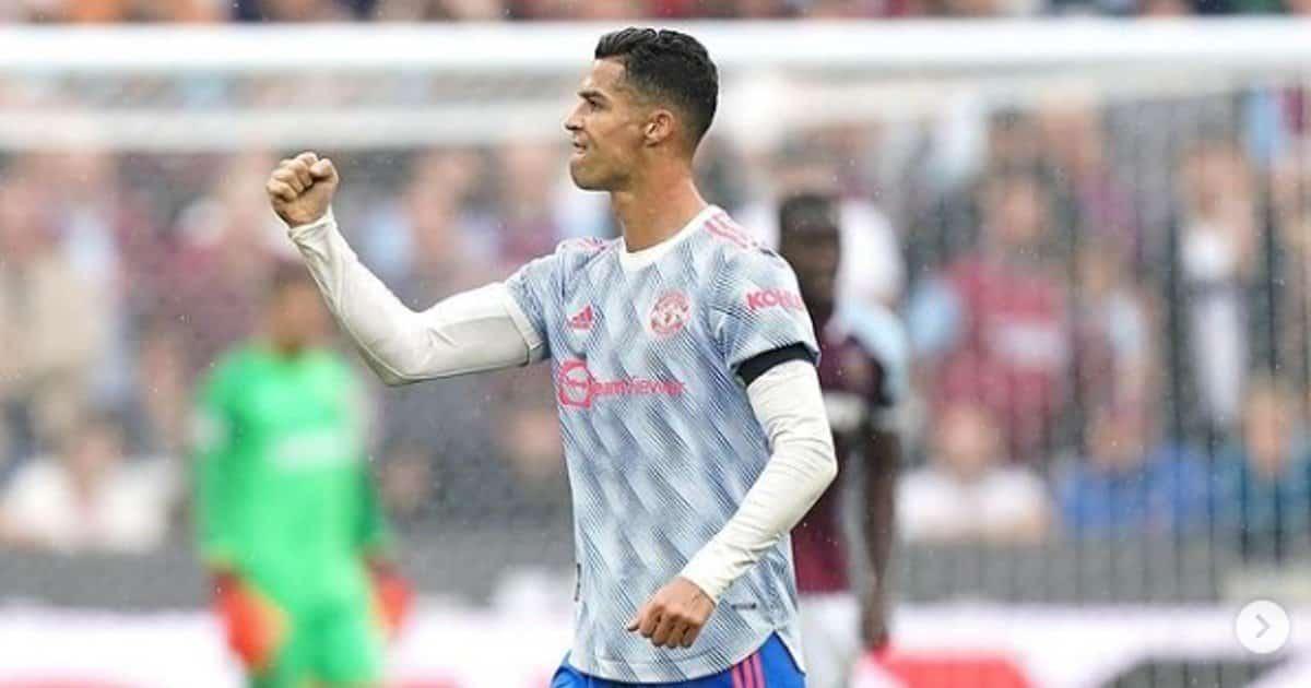 La quiete di Cristiano Ronaldo interrotta dalle pecore.