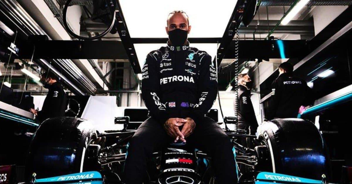 """Hamilton fa finalmente 100: """"Senza la pioggia non ce l'avrei fatta"""""""