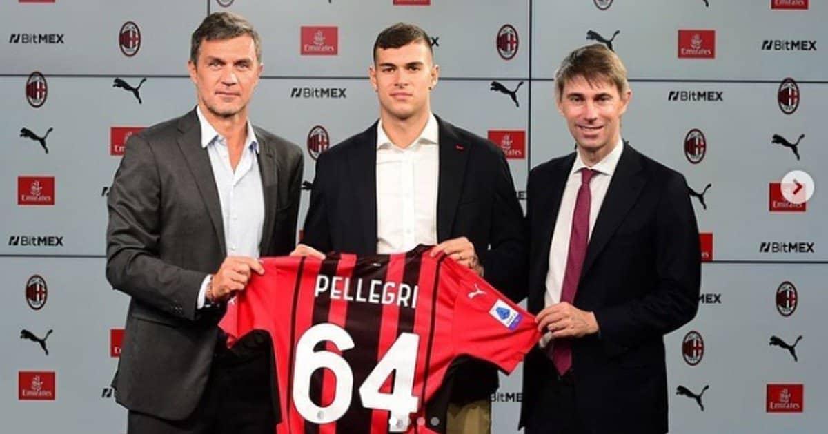 Pietro Pellegri tra l'amore per il calcio e quello per Viktorija Mihajlovic.