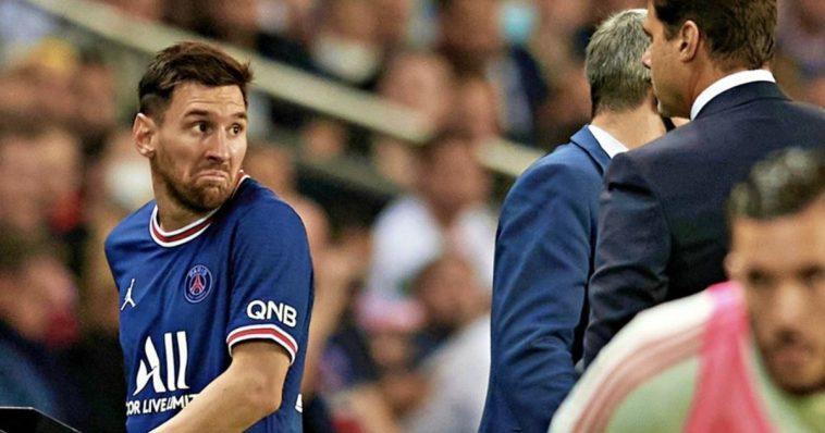 pochettino Messi share hibet social