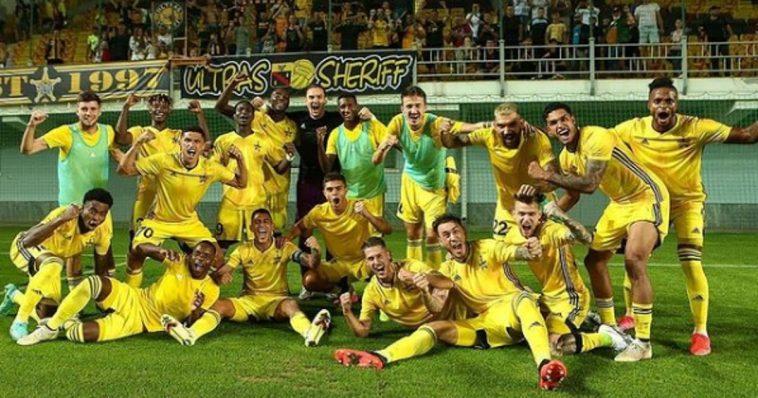 sheriff tiraspol Moldavia Champions League share hibet social