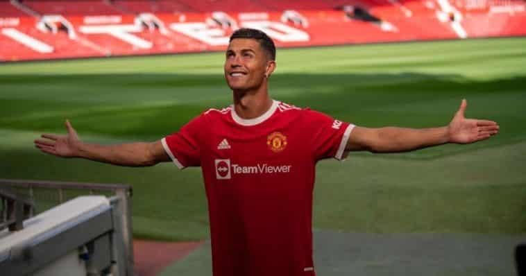 sherwood Solskjaer Ronaldo share hibet social