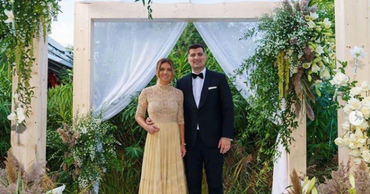 """Vi dichiaro marito e moglie: il """"si"""" di Simona Halep e Toni Iuruc."""