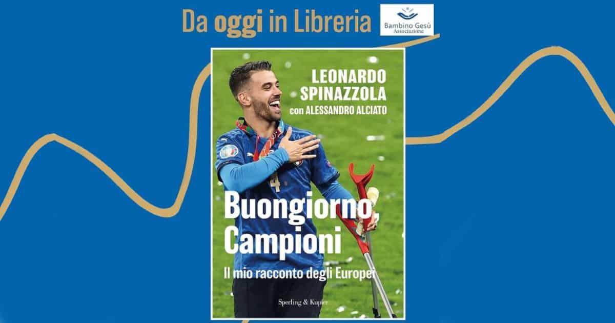 Calcio e beneficenza: Spinazzola dona i ricavi del suo libro.