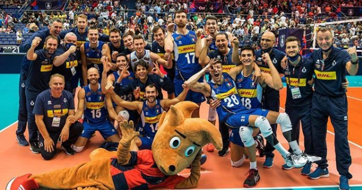 Italia volley De Giorgi share hibet social