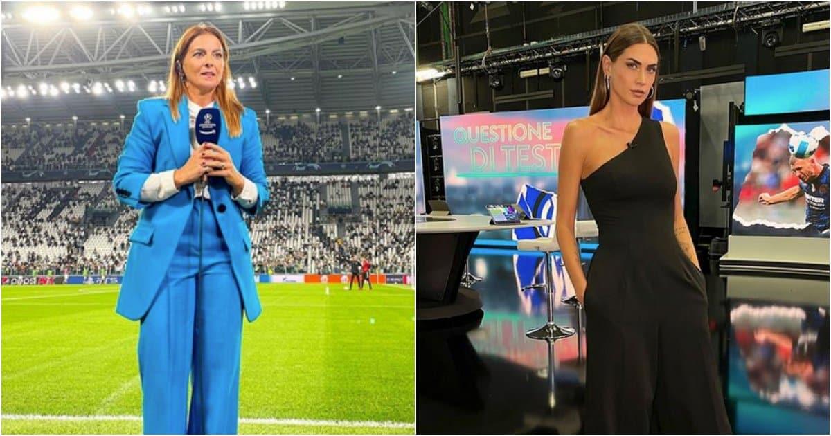Alessia Tarquinio contro Melissa Satta nel Club sportivo di Sky