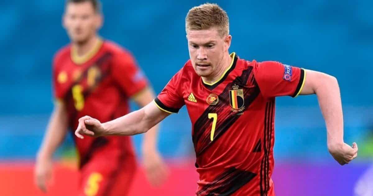 """De Bruyne ammette: """"Ho giocato Euro 2020 con la caviglia malconcia"""""""