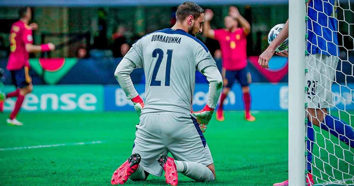 Nations League : Italia battuta dalla Spagna tra fischi ed errori