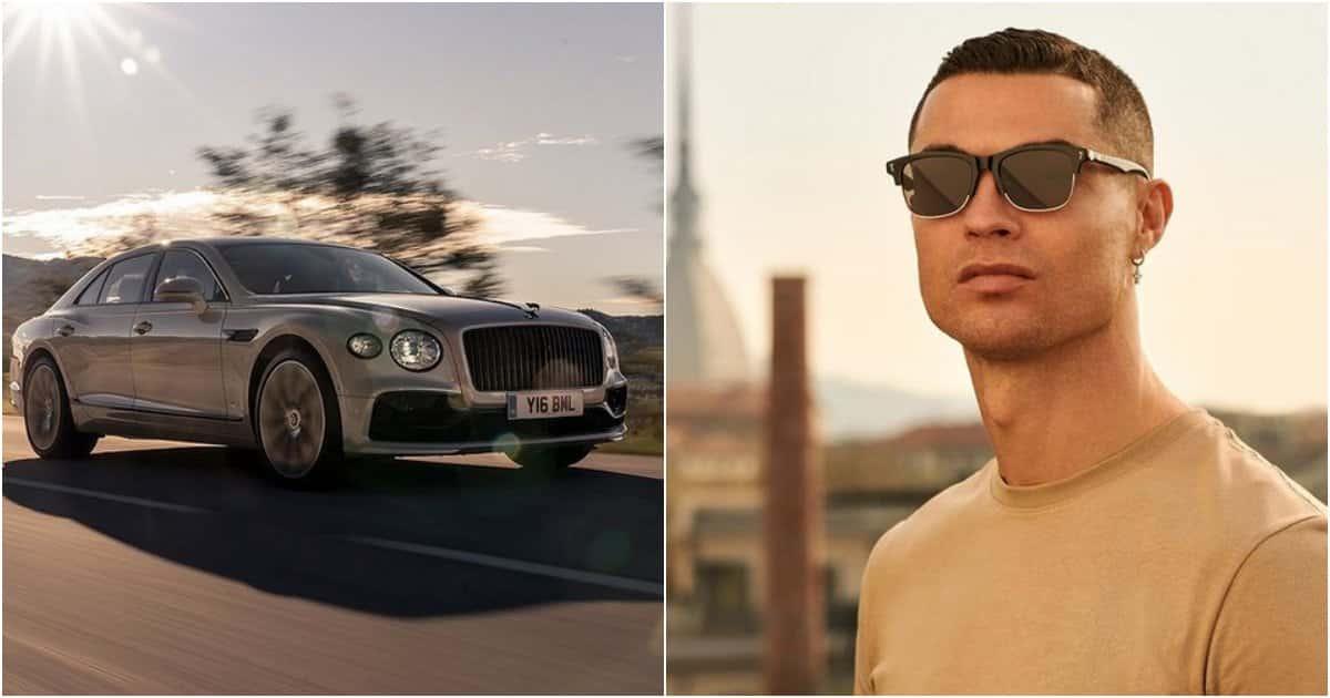 Cristiano Ronaldo passione bolidi di lusso: arriva la Bentley Flying Spur.